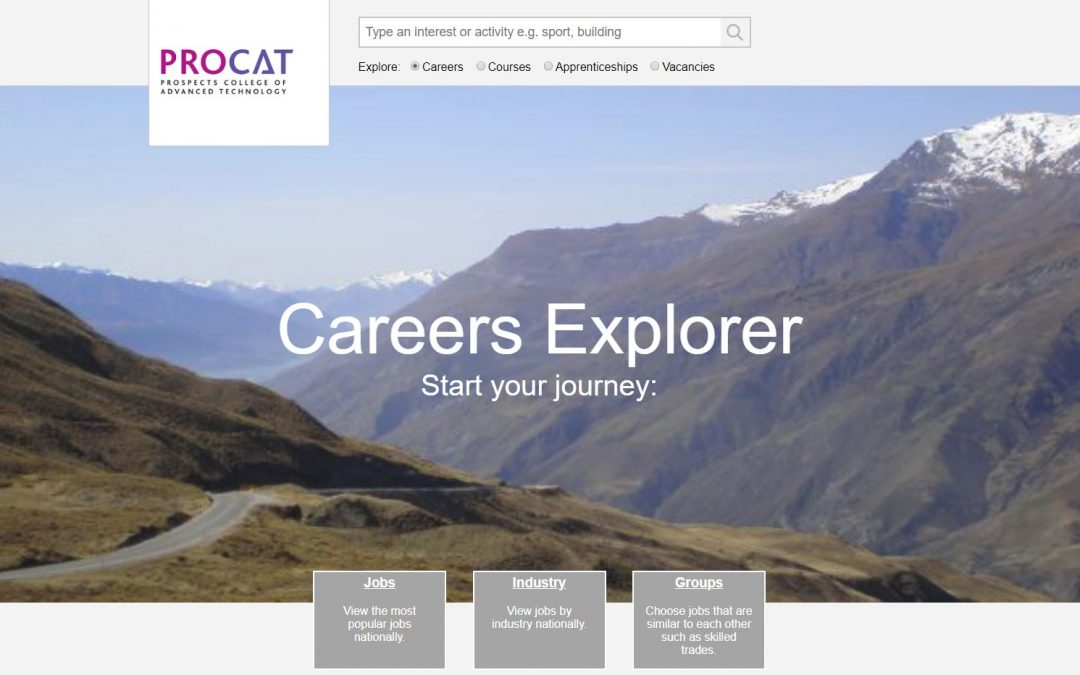 Careers Explorer helps colleges meet the Gatsby Benchmarks of Good Career Guidance